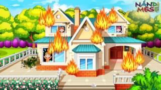 Tűzoltós játék mese magyarul