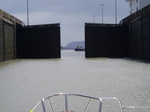Crossing from the Caribbean to the Pacific: CanKata Transits the Panama Canal