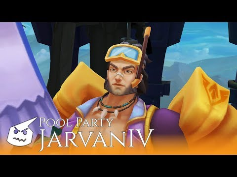Pool Party Jarvan IV.face
