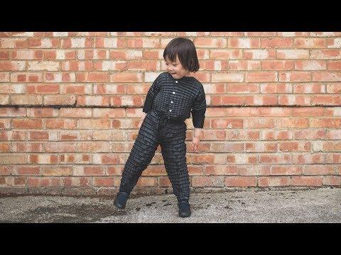 Ryan Mario Yasin's Petit Pli kids clothing expands to fit as children grow