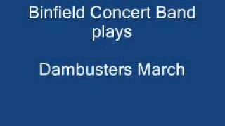 Binfield Concert Band plays The Dambusters March