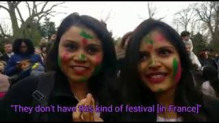 How Paris celebrated Holi