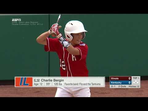 LLWS REGIONALS - Hinsdale Illinois vs  Lexington Kentucky