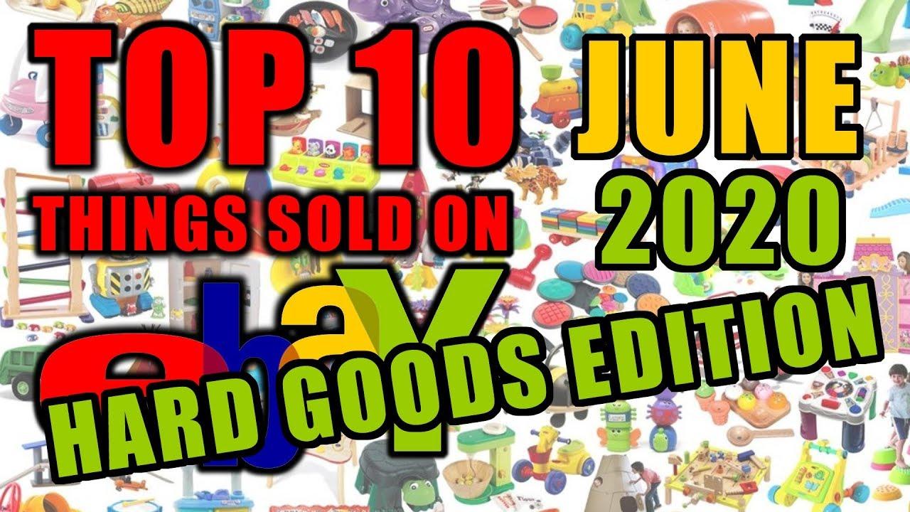 Top 10 Hard Goods Sold on Ebay in June of 2020 | Ebay Bolo Items