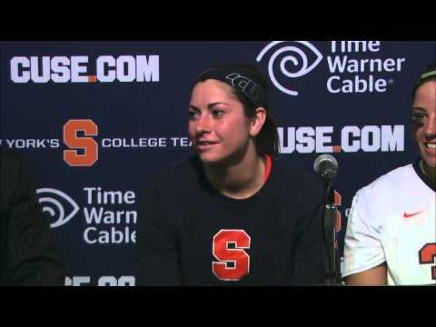 Syracuse vs. Florida Post Game Interviews - Syracuse Women's Lacrosse