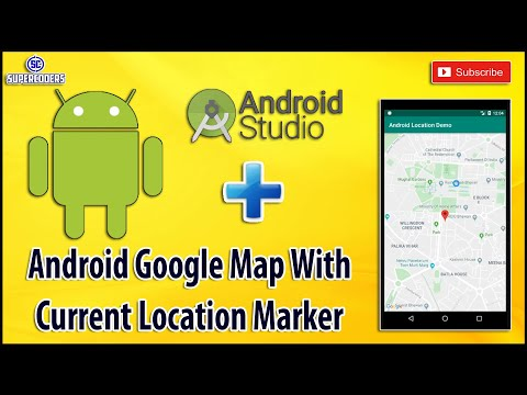 Android Google Map Implementation Tutorial