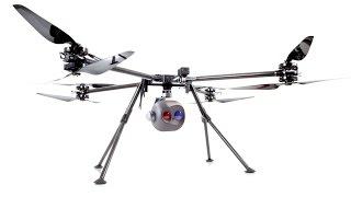SAR - Search and Resuce Drone Tayzu Titan X8 - 20X Optical Zoom and Thermal FLIR Camera