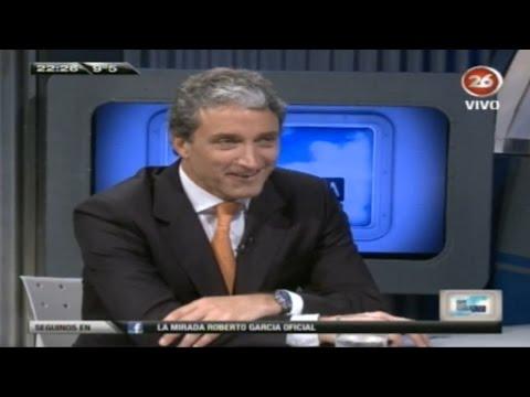 Pepe Scioli estuvo La Mirada de Roberto García por Canal 26