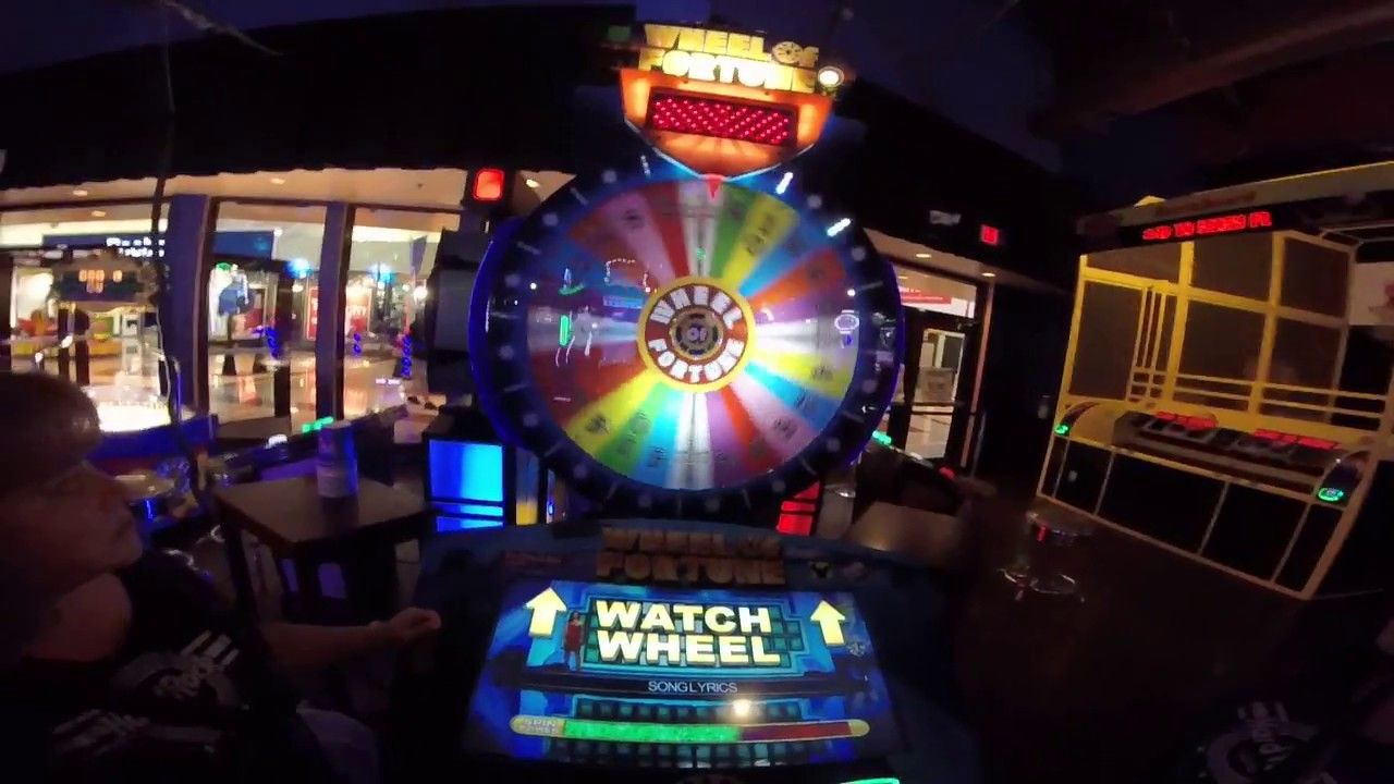 Wheel Of Fortune Ticket Arcade Game Dave And Buster S