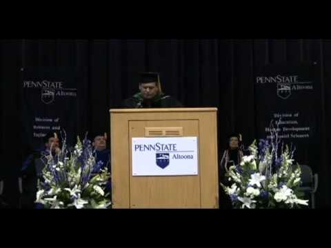 Penn State Altoona Fall 2012 Commencement Address