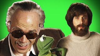 Jim Henson vs Stan Lee. Behind the Scenes of Epic Rap Battles of History