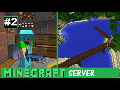 Minecraft Server #2 Meet MO!  Wither blunder & Stilt House P