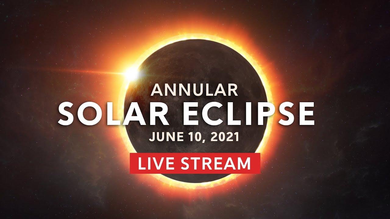 LIVE STREAM!!!! June 10th Solar Eclipse 2021 - The Ring of Fire Portal Has Opened!!