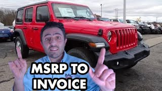 How to Negotiate a Jeep Wrangler Price in 2020
