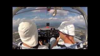 Thermikfliegen und Streckenflug mit dem SF25 C-Falke
