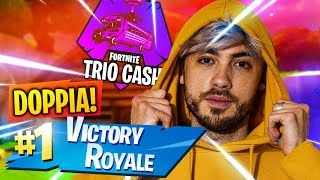 DOUBLE ROYAL VICTORY AT THE CASH CUP TRIO! FORTNITE ITA