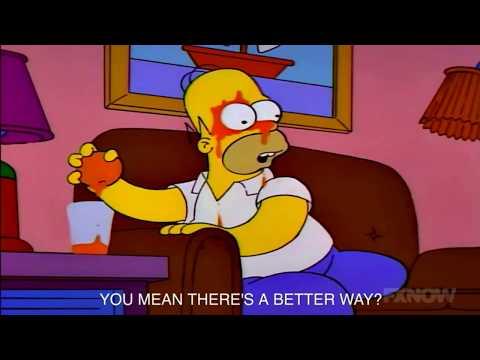 Simpsons Logical Fallacies:  Straw Man Fallacy