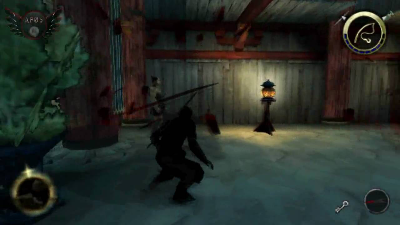 tenchu 4 shadow assassins psp