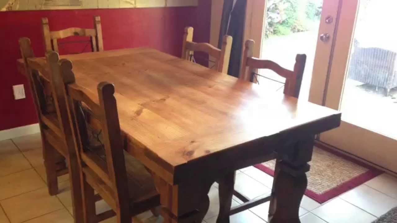 Howard Feed N Wax Restoration On Old Wooden Kitchen Table