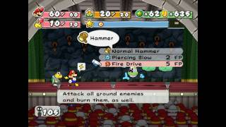 Paper Mario: The Thousand Year Door; Pre-Hooktail Run - Floors 91-95