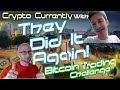 Livestream with Bitcoin Trading Challenge + Cracking Crypto