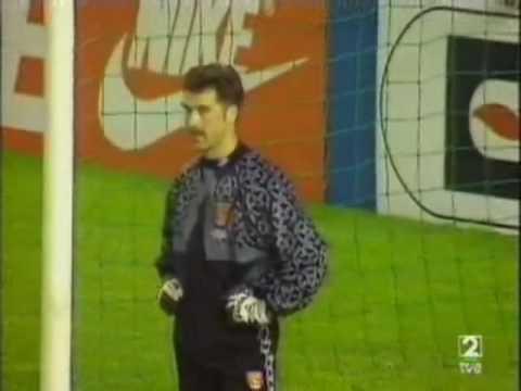 Best Goal in a European Cup final Arsenal-Zaragoza Paris 1995