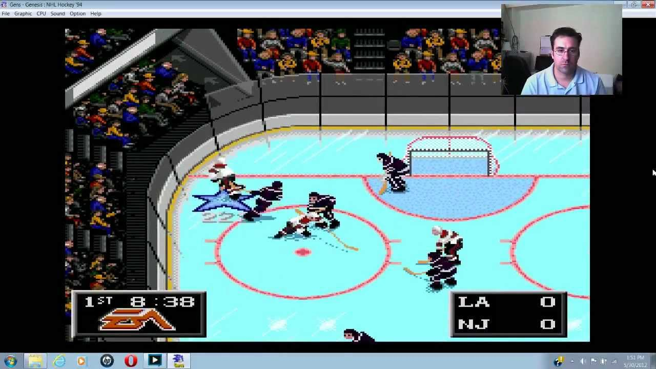 Nhl 94 Nj Devils Vs La Kings Game 1 And 2 Stanley Cup 2012 Ea Sports