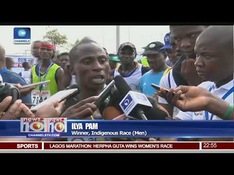 Kenyan, Ethiopian Runners Dominate 2018 Lagos City Marathon Pt.4 |News@10| 10/02/18