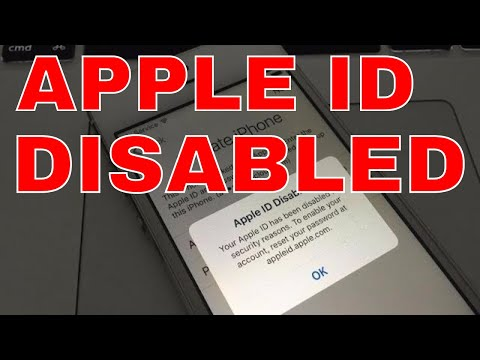 Apple ID Disabled iCloud Unlock Bypass Activation Lock Newest Method any ios iPhone 4 4s 5 5s 6 6s