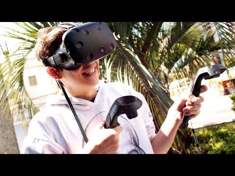 Como aproveitar ao MÁXIMO a Realidade Virtual (HTC VIVE)