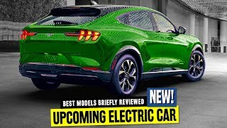 8 All-New Electric Cars that will Hit the Roads in 2020 ft. Tesla Cybertruck