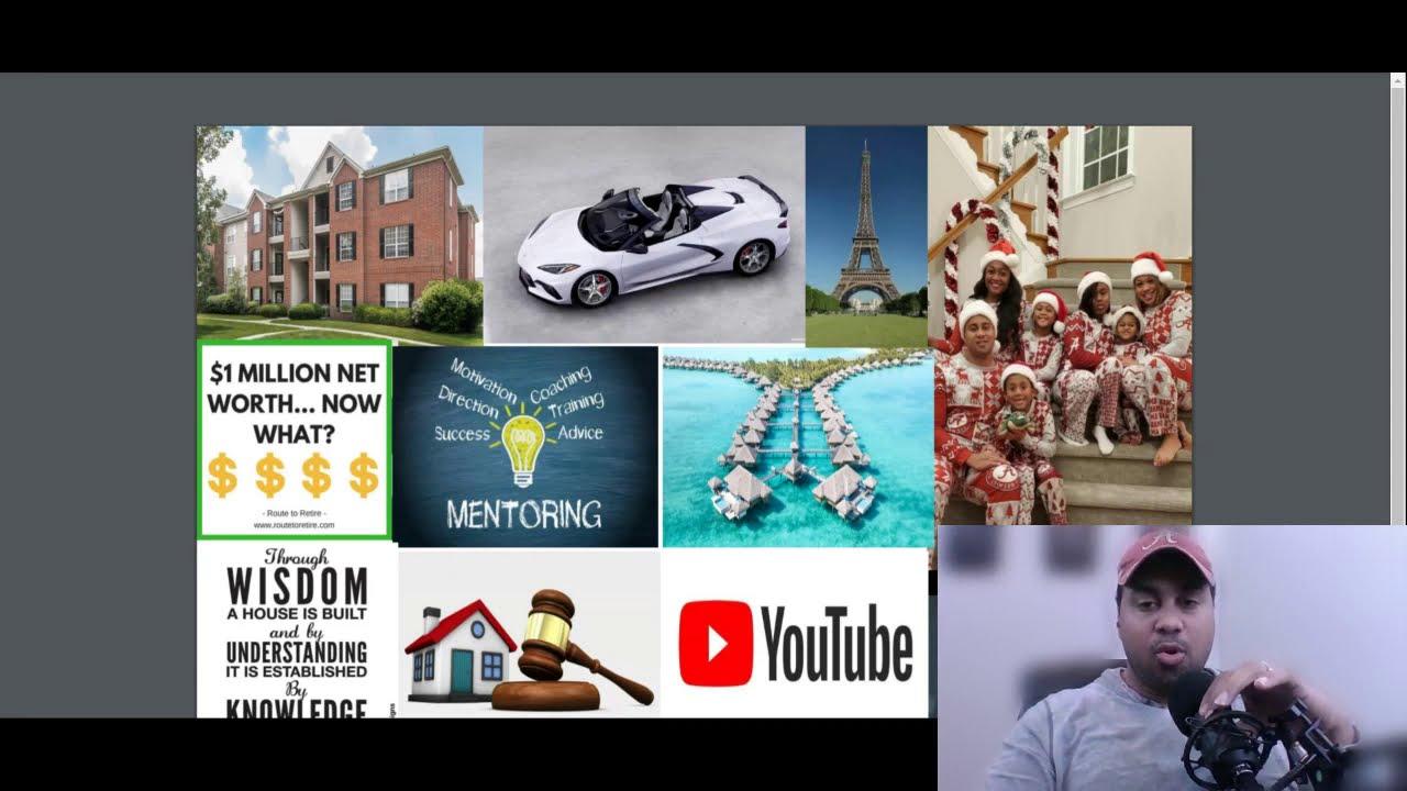 2021 Vision Board Challenge: Real Estate, Travel, Mentorship, Investing & More