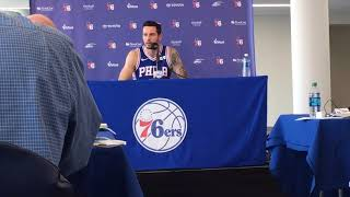 Jj redick: 'i'm about as anti-trump as you can get'