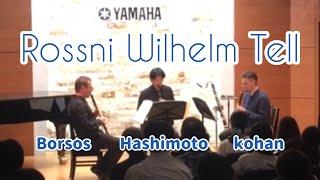 1st clarinet Robert Borsos 2nd clarinet Shinsuk Hashimoto 3rd clari...