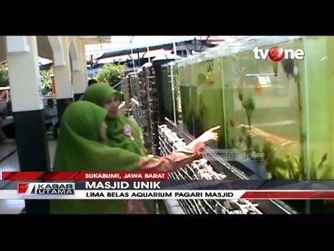 KEREN! Masjid Berpagar Aquarium Di Sukabumi, Bikin Betah Jamaah | TvOne