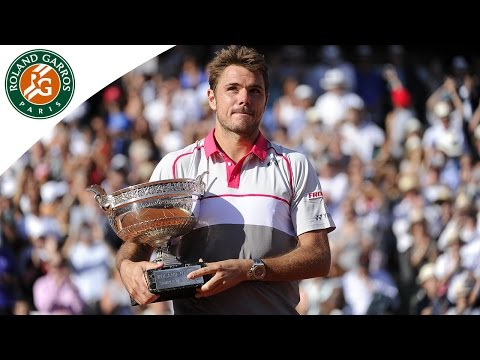 Stan Wawrinka lifts the Coupe des Mousquetaires - 2015 French Open