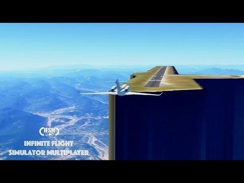 Infinite Flight Global Guangyuan Panlong Airport - 15000 feet above the air...