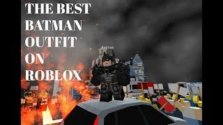 The Best way to look like Batman on Roblox (Injustice 2)