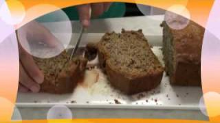 Egg Free Banana Nut Bread Video Recipe By Bhavna