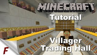 ✅ Minecraft Villager Trading Hall Tutorial (Download & Schematic) 1.12, 1.12.1 & 1.12.2