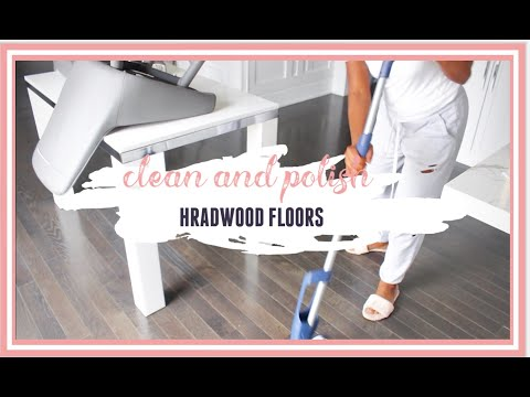 DEEP CLEAN WITH ME| HOW TO DEEP CLEAN YOUR HARDWOOD FLOORS|