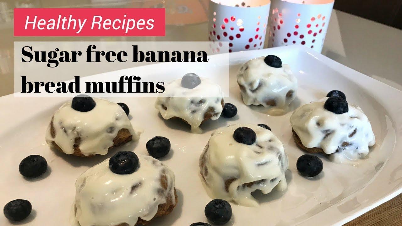 Download Healthy Banana Bread Recipe | Sugar Free with Vegan Option