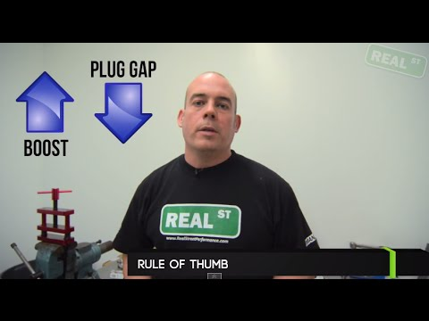 Spark plug gap for boost - Jay's Tech Tips #14