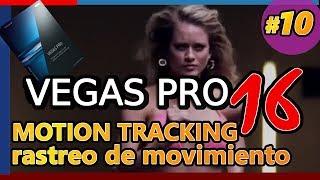 VEGAS PRO 16 (Tutorial 10: Rastreo de Movimiento, espaciado o motion tracking, difuminado)