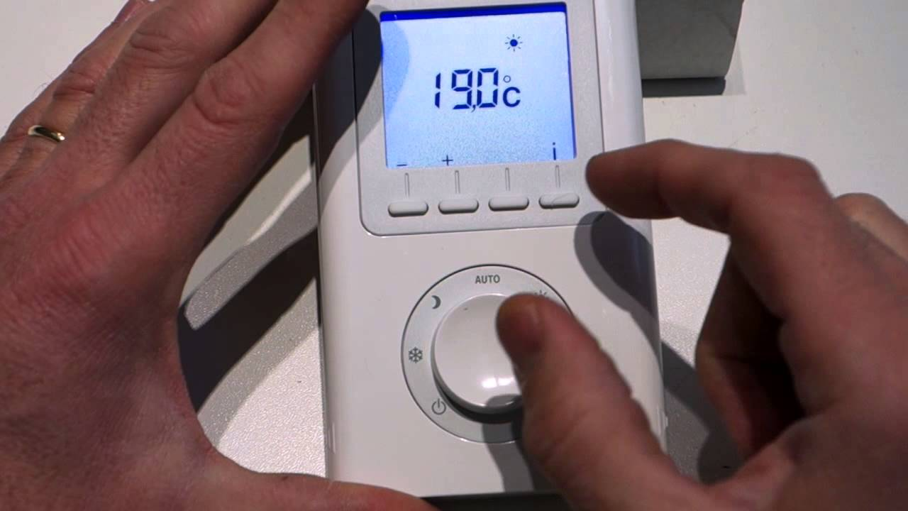 thermostat 30 e youtube. Black Bedroom Furniture Sets. Home Design Ideas