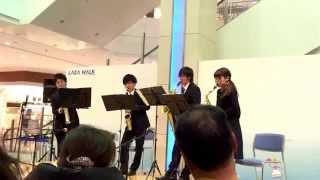 ルパン三世のテーマ Schelmisch Saxophone Quartet Twitter→https://mob...