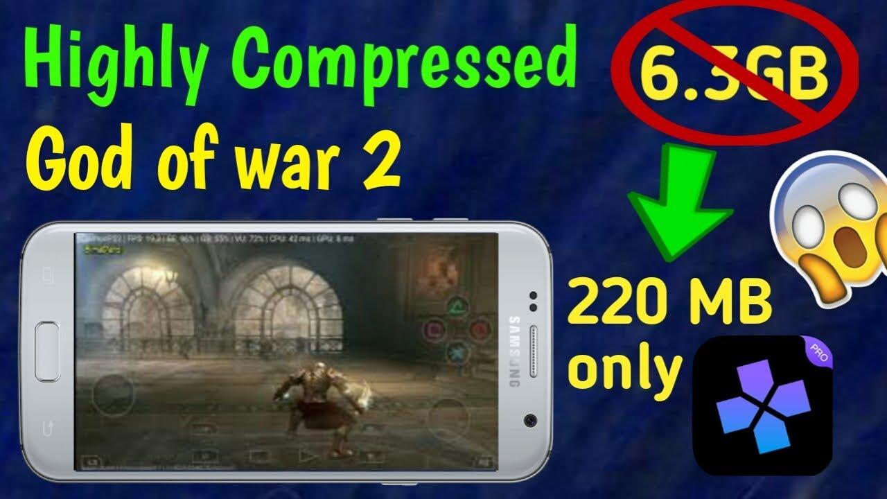 Highly compressed God of war 2 in 220mb | Damon ps2 pro emulator