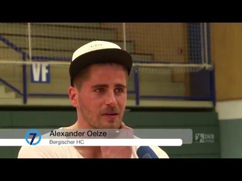 Der REWE Final Four-Countdown: BHC-Spielmacher Alexander Oelze im Interview