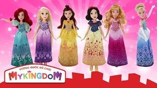 Đồ chơi búp bê công chúa Disney - Cùng bé khám phá thế giới