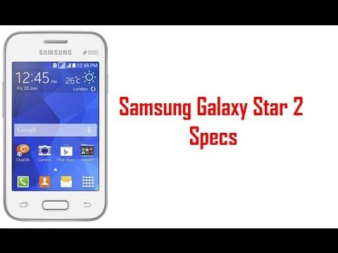 Samsung Galaxy Star 2 Specs & Features